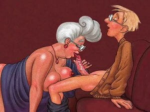 Tetka voli pušiti! Animacija!